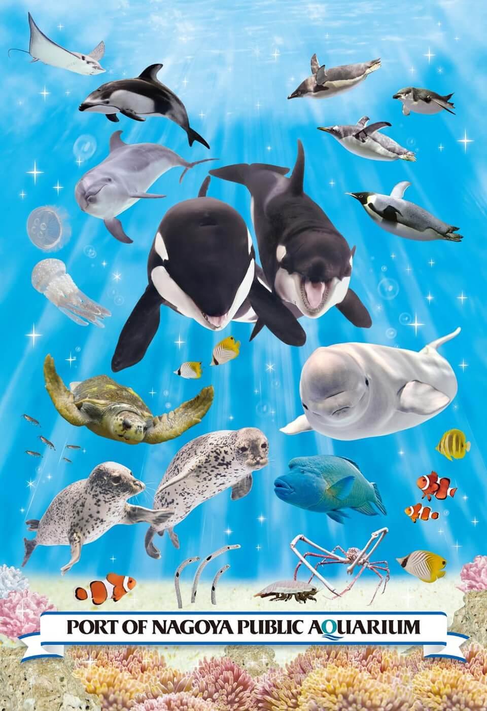 名古屋港水族館 オリジナルジグソーパズル|愛知県|ご当地限定